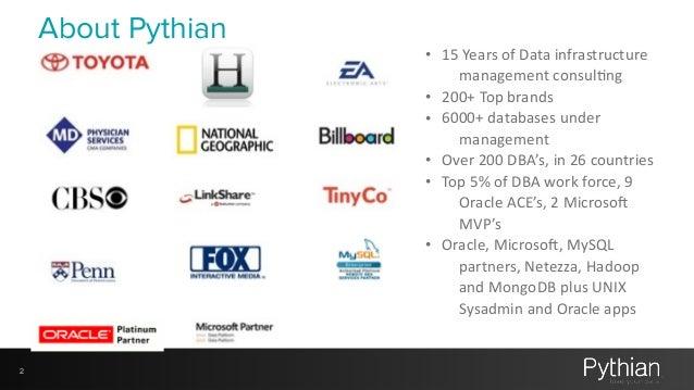 My First 100 days with a MySQL DBMS Slide 2