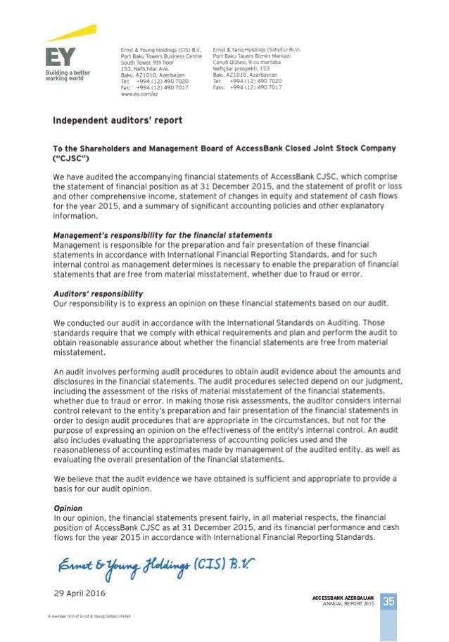 AccessBank Annual report 2015