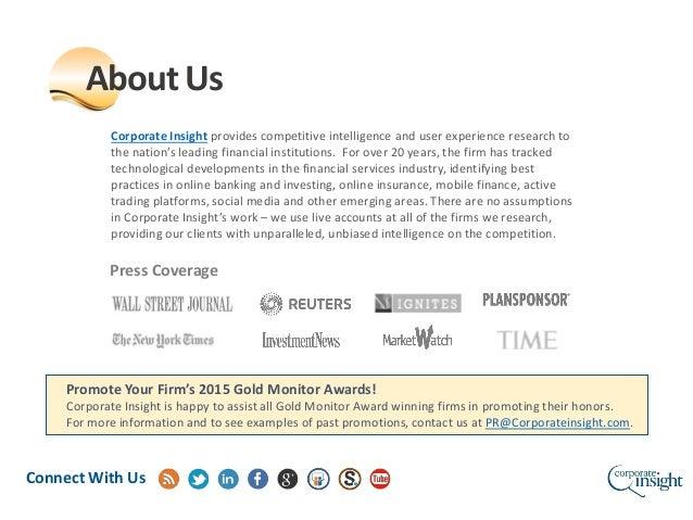 2015 Advisor Monitor Awards Slide 2