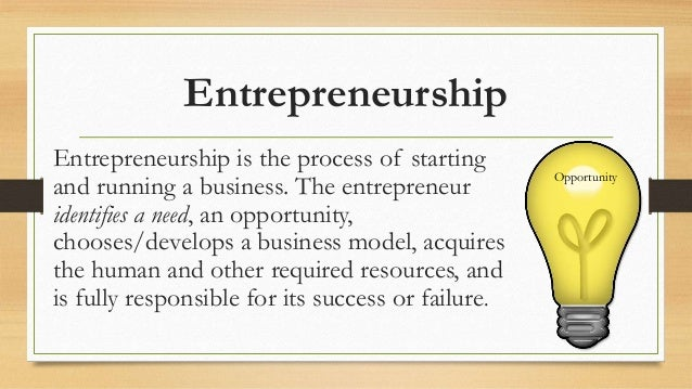 Slideshow Presentation On Entrepreneurship