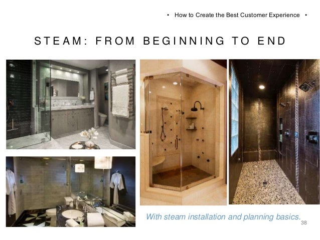 100 Steam Shower Tile Installation