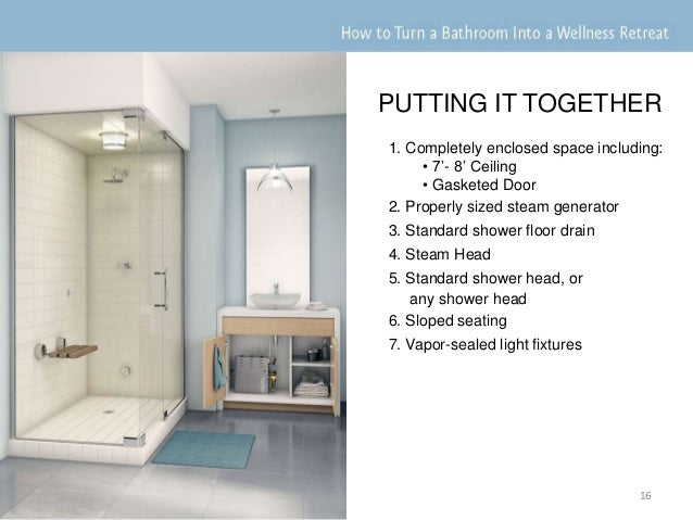 Steam Showers 101 How To Turn A Bathroom Into A Wellness Retreat