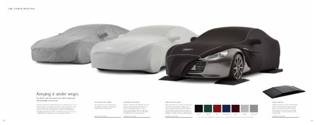 2015 aston martin accessories catalogue