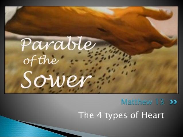 The 4 types of Heart Matthew 13