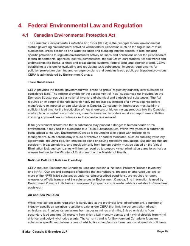 an overview of the government regulatory intervention in canadian business The basic regulatory requirements that manufacturers of medical devices a small business may pay a more in overview of medical device regulation.