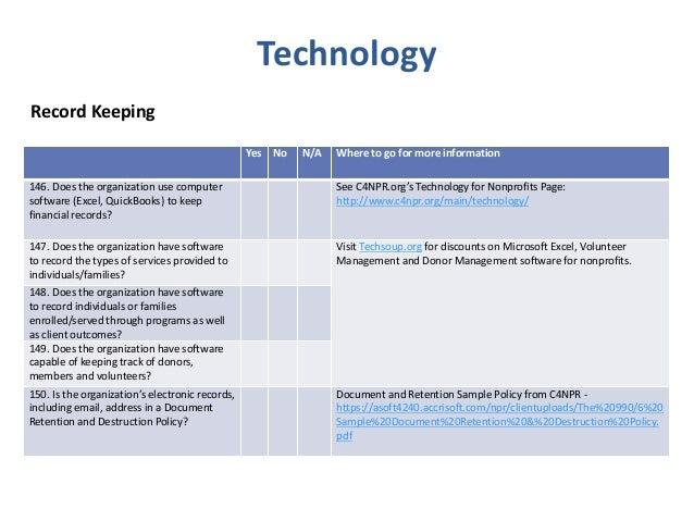 2015 board governance & nonprofit best practice checklist