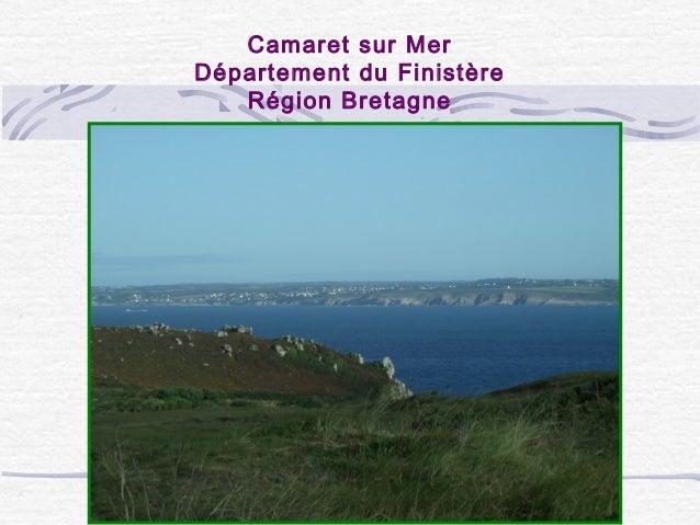 Camaret sur Mer Département du Finistère Région Bretagne