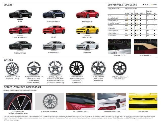 2015 Chevrolet Camaro Brochure Mckaig Chevrolet Buick