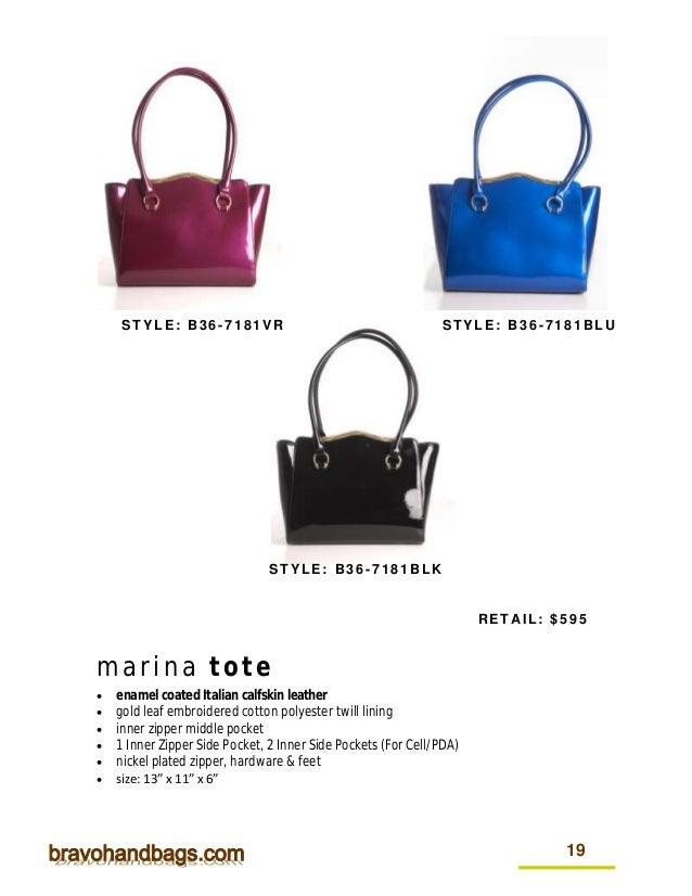 14bd825b6cfc 2015 Bravo Handbags Catalog