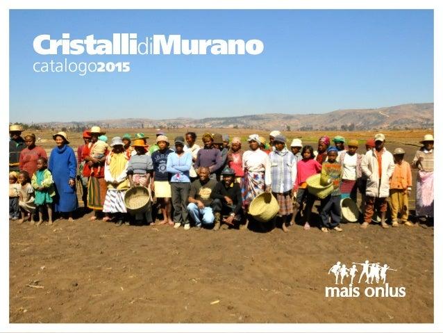 CristallidiMurano catalogo2015