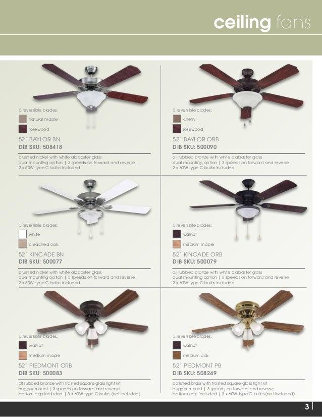 2015 Ceiling Fan Catalog Slide 3