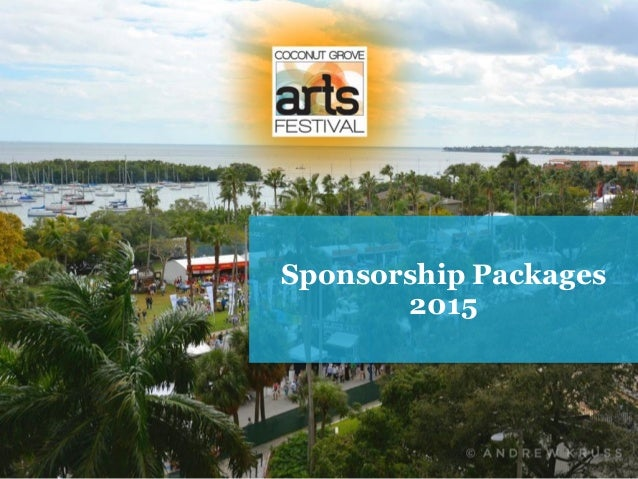 Sponsorship Packages 2015