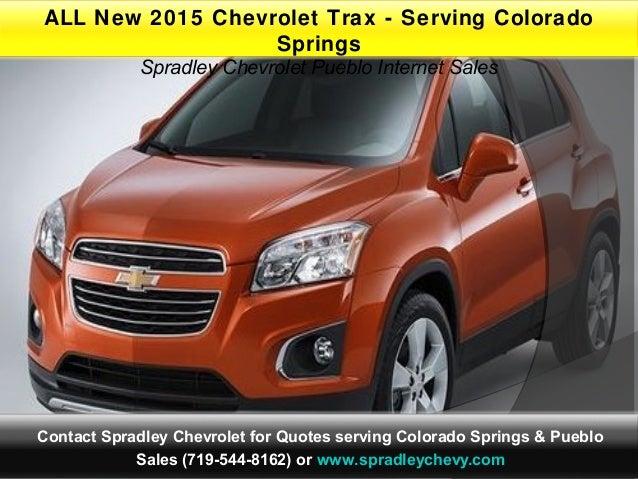 2015 Chevrolet Trax L Serving Colorado Springs Pueblo Co