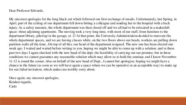 Dear Professor Edwards, My sincerest apologies for the long black out which followed our first exchange of emails. Unfortu...