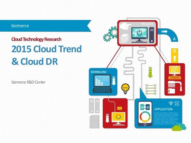 CloudTechnologyResearch 2015CloudTrend &CloudDR bizmerceR&DCenter bizmerce