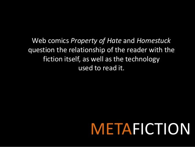 Metafiction in Webcomics