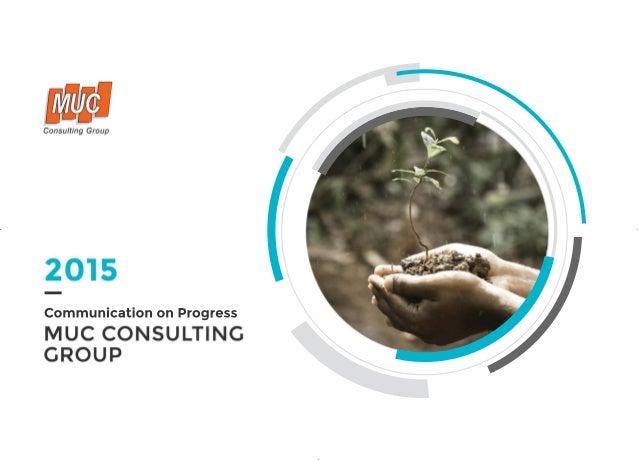 MUC Communication on Progress 2015