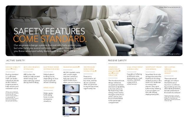 2015 Honda CR-V Brochure | Jackson MS area Honda Dealer