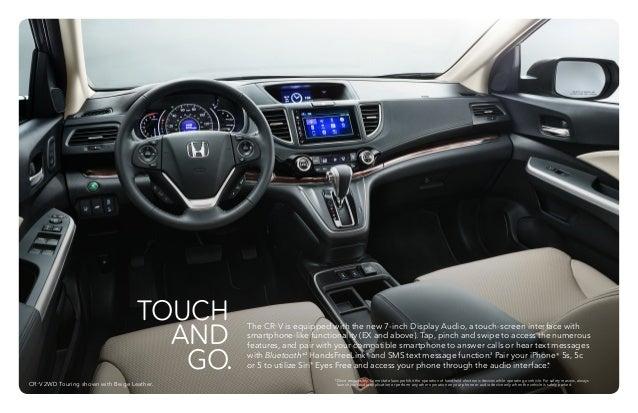 2015 Honda CRV Brochure Neil Huffman Honda