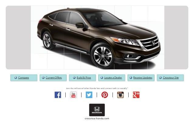 2015 honda crosstour brochure jackson ms area honda dealer for Honda dealership jackson ms