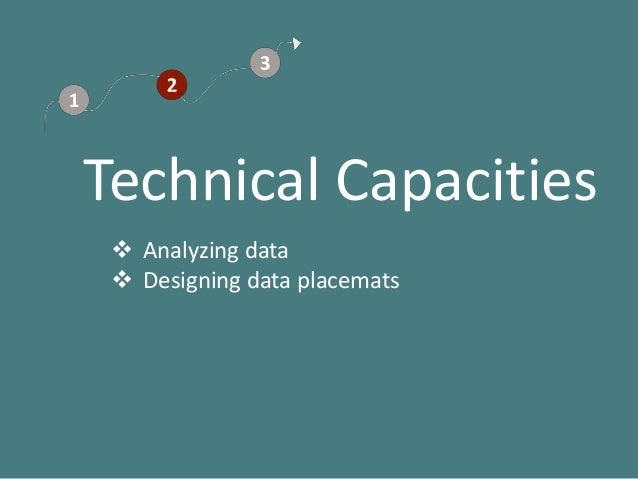 Data Placemats Construction And Practical Design Tips