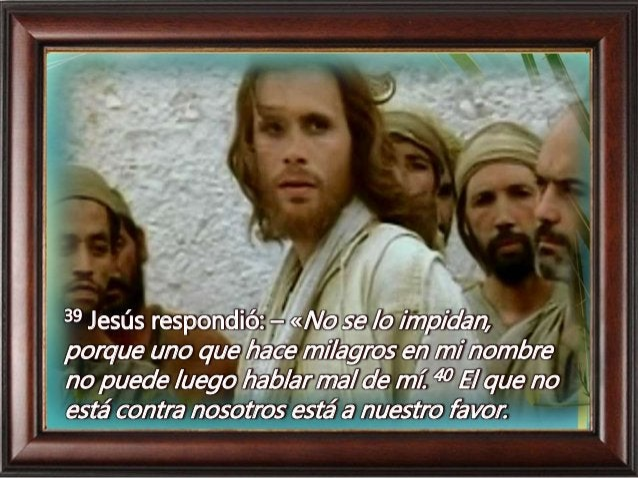 41 Todo aquel que les dé a beber un vaso de agua por ser ustedes de Cristo, les aseguro que no quedará sin recompensa.