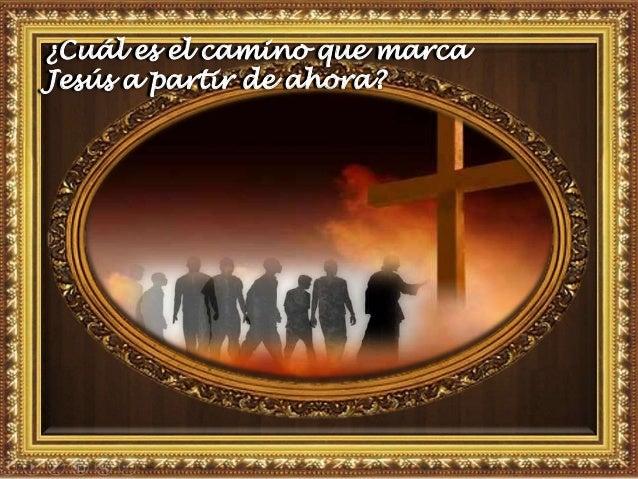Motivación: Cuando el discípulo carga su cruz, es el mismo Cristo crucificado que se hace presente en su dolor, en su cans...