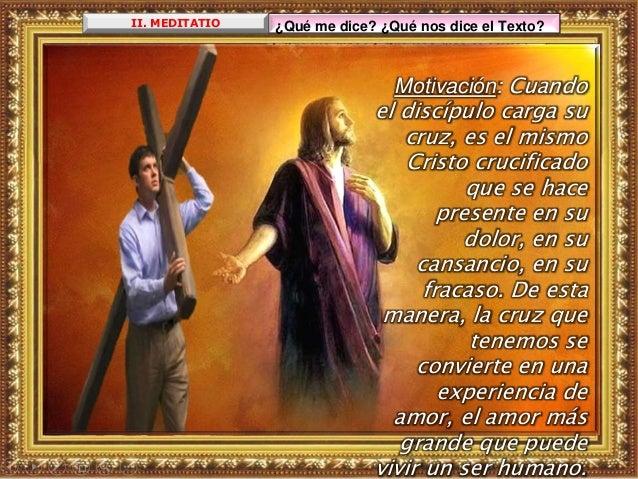 ¿Acepto el misterio pascual que implica cruz y resurrecci ón en mi vida? ¿En qué se ve?