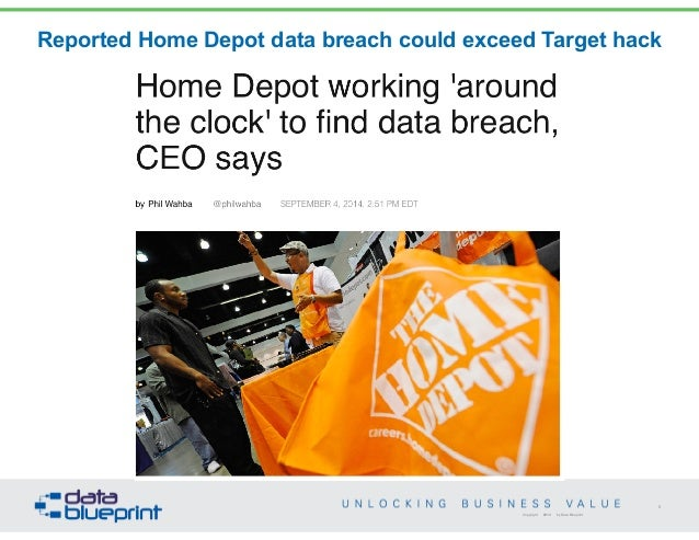 Data ed data governance strategies blueprint 8 reported home depot malvernweather Image collections