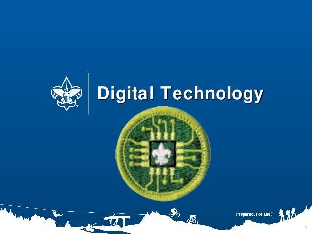 1 Digital TechnologyDigital Technology