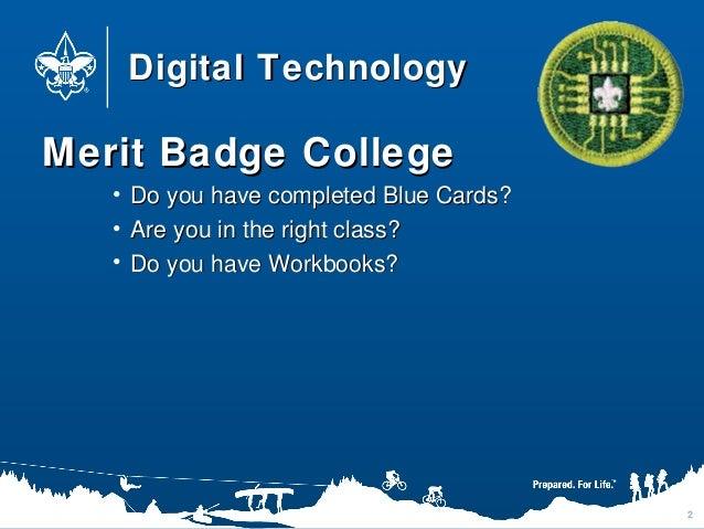 Digital Technology Merit Badge Worksheet 009 - Digital Technology Merit Badge Worksheet