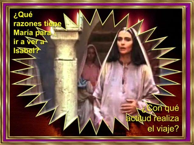 ¿Por qué Isabel llama dichosa a María?