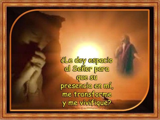 """III. ORATIO ¿Qué le digo al Señor motivado por su Palabra? Motivación: El Evangelio nos ha asegurado que """"todos serán inst..."""
