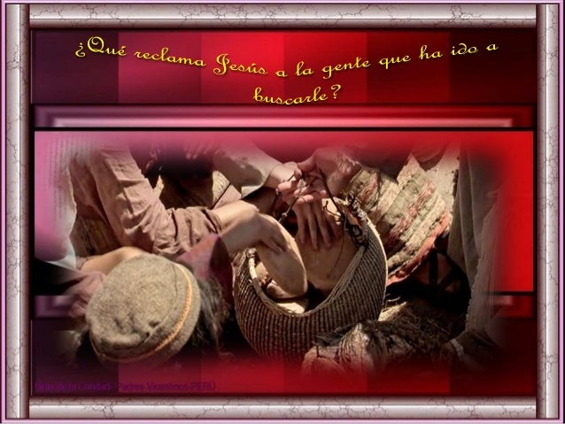 II. MEDITATIO ¿Qué me dice? ¿Qué nos dice el Texto? Motivación: Como la gente que sigue al Señor, estamos invitados a entr...