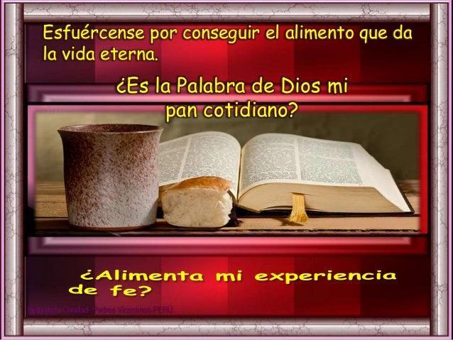 III. ORATIO ¿Qué le digo al Señor motivado por su Palabra? Motivación: La Palabra de Dios, encarnada en Jesucristo, es un ...