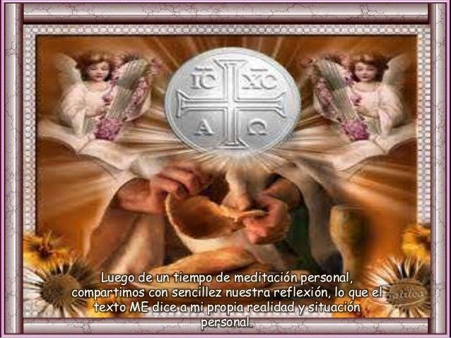 El Señor les dio un trigo del cielo Dio orden a las altas nubes, abrió las compuertas del cielo, hizo llover sobre ellos m...