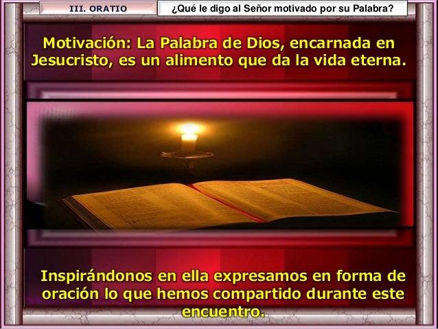 El Señor les dio un signo del cielo Y el hombre comió pan de ángeles; les mandó provisiones en abundancia hasta la hartura...
