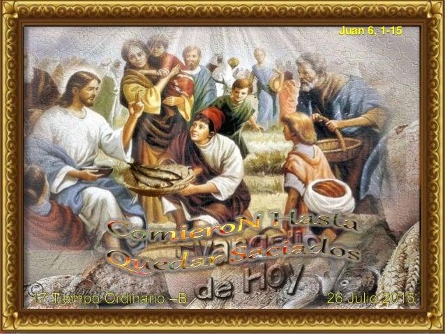 Juan 6, 1-15