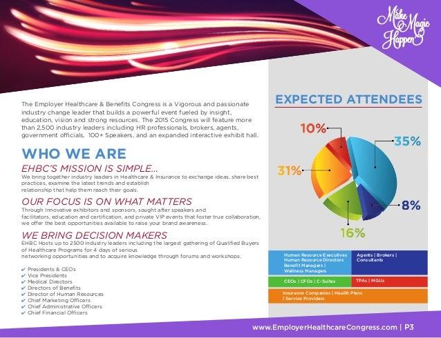 2015 EHBC Sponsorship Brochure – Sponsorship Brochure Template