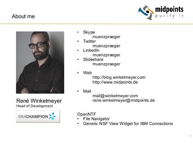 3 • Skype muenzpraeger • Twitter muenzpraeger • LinkedIn muenzpraeger • Slideshare muenzpraeger • Web http://blog.win...