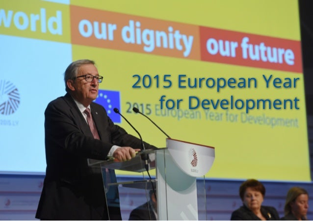 2015 European Year for Development