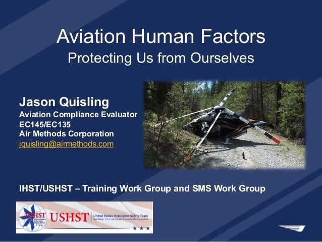 human factors in aviation for pilots With a master's degree in aviation human factors from florida tech, graduates may find careers with airline organizations, the faa or ntsb.