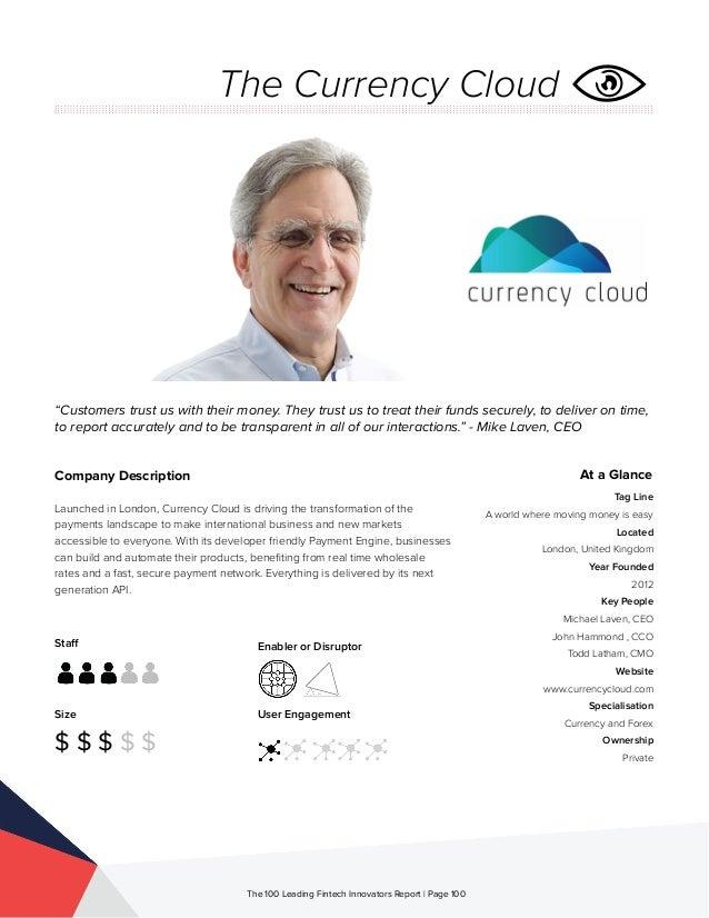 The 100 Leading Global Fintech Innovators 2015