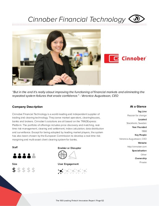 Cinnober tradexpress trading system