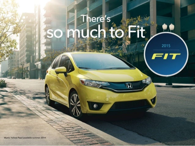 2015 Honda Fit Brochure | Jackson MS area Honda Dealer