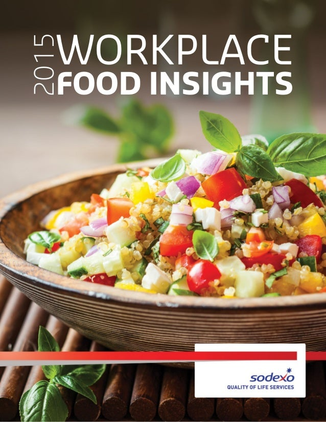 WORKPLACE FOOD INSIGHTS 2015