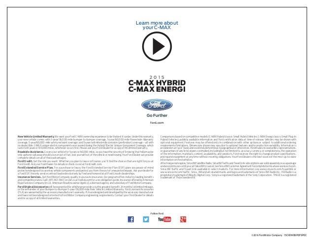 2015 Ford C Max Hybrid Energi Information At El Paso