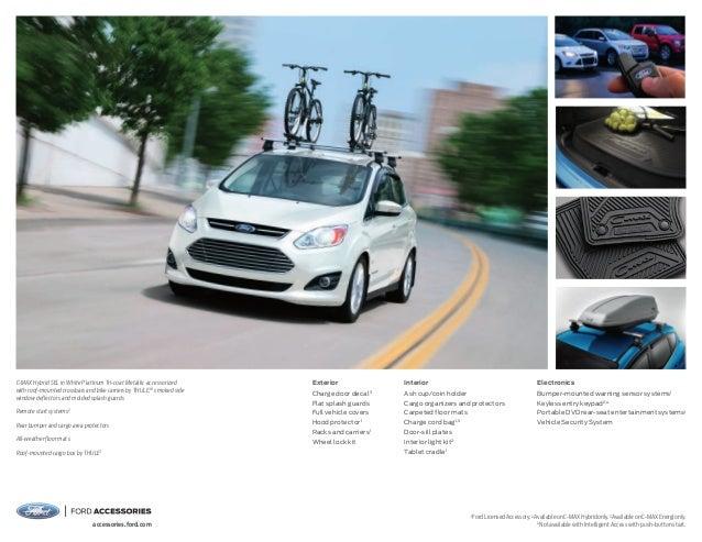 2015 Ford C Max Hybrid Energi Information Brochure