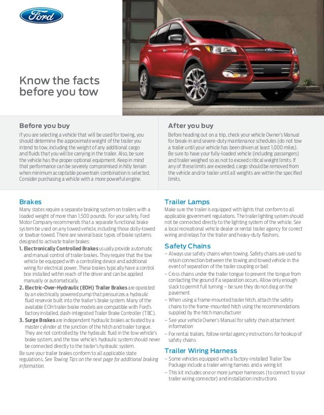 2015 ford escape towing capacity information bloomington ford a deal. Black Bedroom Furniture Sets. Home Design Ideas