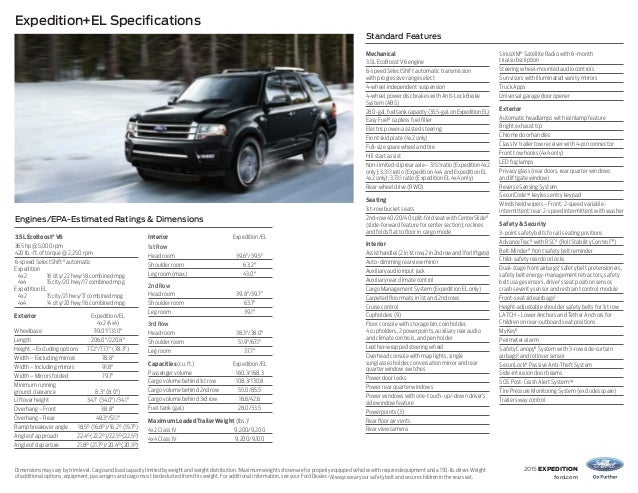 Image Result For Ford Expedition El Brochure